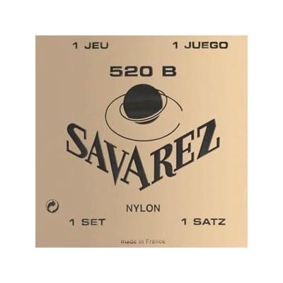Savarez 520B White Card Classical Guitar Strings