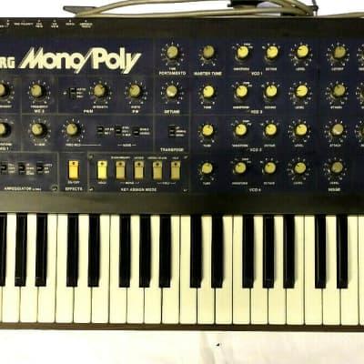 KORG MonoPoly ANALOG Synthesizer, mono-/polyphon, TOP Sounds, Effekte, Bässe, genial! Just Serviced!
