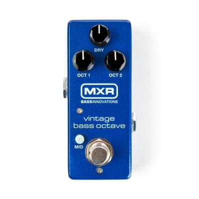 MXR Mini Vintage Bass Octave Bass Guitar Effect Pedal for sale