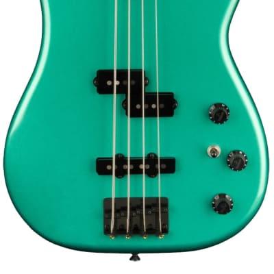 Fender Boxer Series PJ Bass Sherwood Green Metallic w/bag