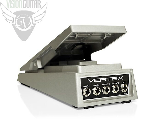 new vertex effects handwired stereo volume pedal low reverb. Black Bedroom Furniture Sets. Home Design Ideas