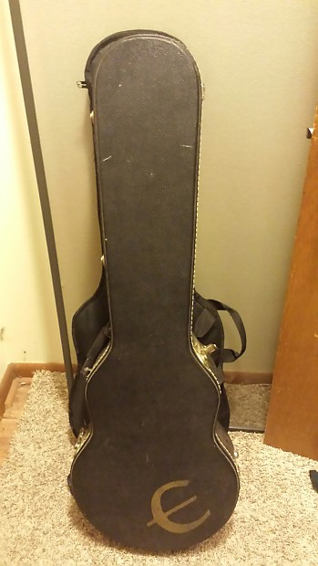 7793280fe35 Epiphone Logo Les Paul TKL Hardshell Case Made In Canada Fit Gibson Hard  Shell Case OHSC Black Tolex