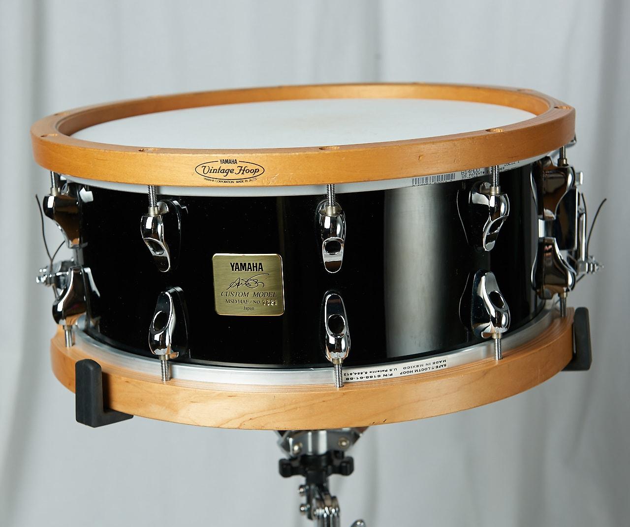 yamaha msd14af anton fig signature 14x6 maple snare reverb. Black Bedroom Furniture Sets. Home Design Ideas