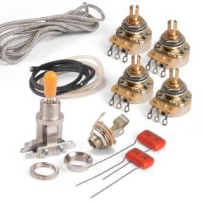 Sensational Golden Age Premium Wiring Kit For Gibson Les Paul With Reverb Wiring 101 Tzicihahutechinfo