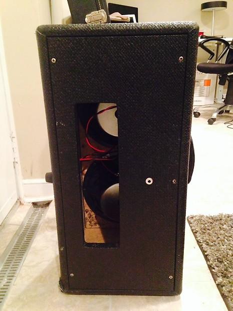 vintage gibson guitar speaker cabinet 2x10 weber speakers reverb. Black Bedroom Furniture Sets. Home Design Ideas