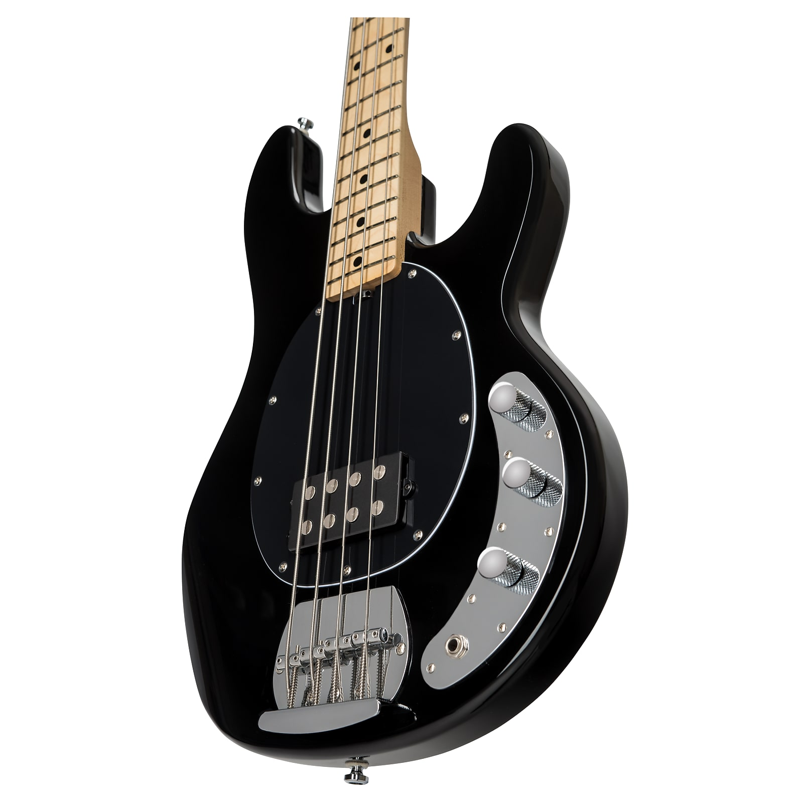 Sterling by Music Man StingRay 4-String Electric Bass, Black