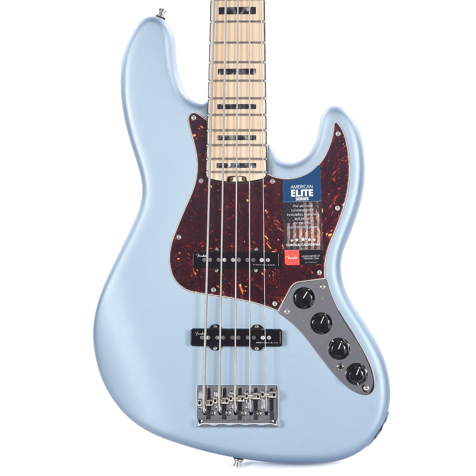 American Elite Jazz Bass : fender american elite jazz bass v 5 string satin ice blue metallic ~ Vivirlamusica.com Haus und Dekorationen
