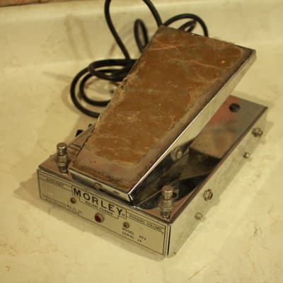 Vintage Morley Tel-Ray PFV Volume Phaser Guitar / Bass Pedal USA - 70's
