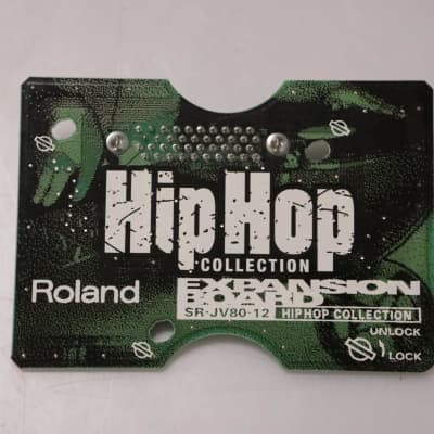 Roland SR-JV80-12 Hip Hop Collection Expansion Board Sound Card SRJV8012 #37019