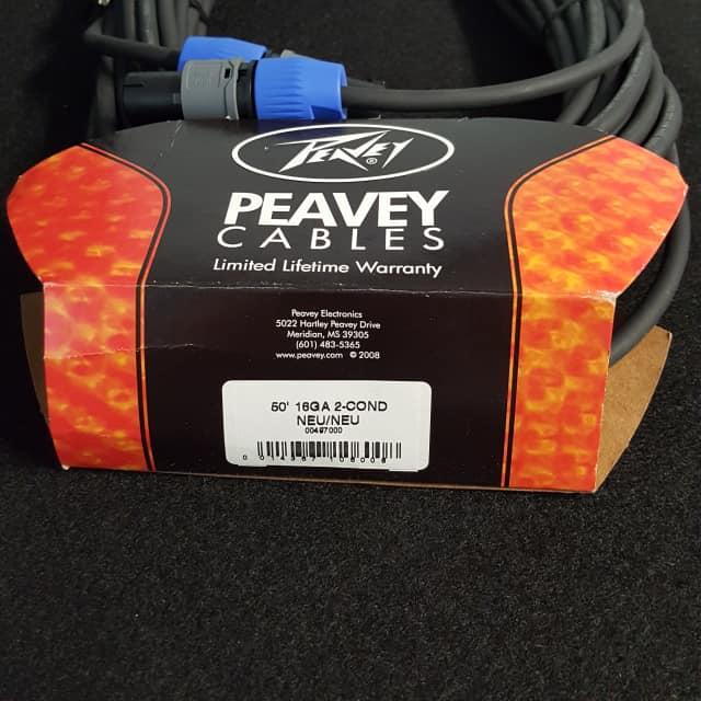 Peavey 50 Ft. 14-gauge Neutrik®/Neutrik® Cable 2018 BLACK image