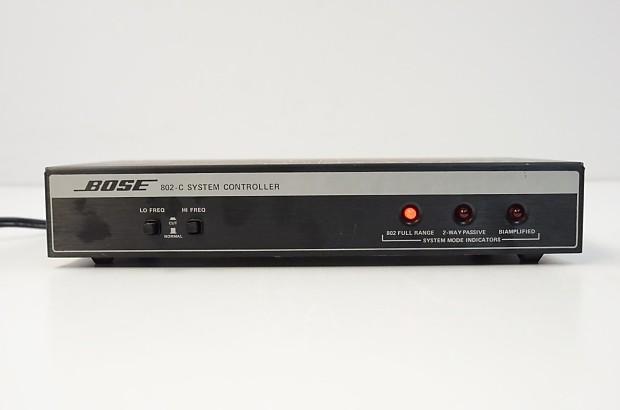 Bose 802 Series II Loudspeakers (PAIR) with 802-C Controller 802c Speakers