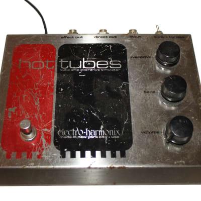 Electro-Harmonix Vintage Hot Tubes Vintage Overdrive Effects Pedal