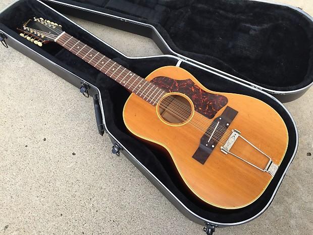 gibson 1969 b 25 12n vintage 12 string acoustic guitar w reverb. Black Bedroom Furniture Sets. Home Design Ideas