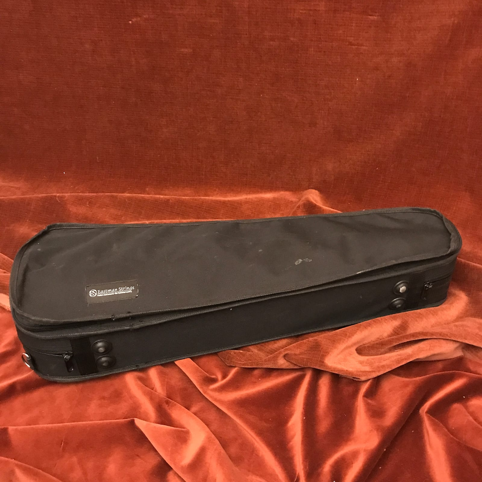 Eastman Strings 3/4-Size Violin Case Black w/ Red Interior