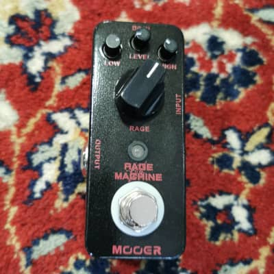 Mooer Rage Machine Mini Distortion Pedal