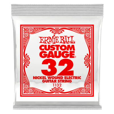 Ernie Ball Single .032 Nickel Wound String