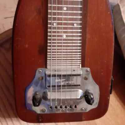 Electromuse  Lap Steel  c. '40's Natural Mahogany for sale