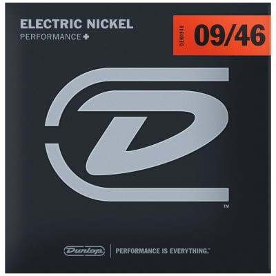 Dunlop Performance+ Electric Guitar Strings 09-46, DEN0946