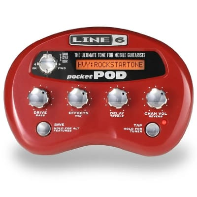 Line 6 Pocket POD Multi-Effect and Amp Modeler