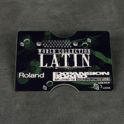 Roland SR-JV80 Expansion Board - 18 World Collection LATIN - 2nd Hand