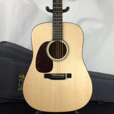 Martin D-16E Left-Handed Acoustic-Electric Guitar, Natural w/ Case - Customer Return