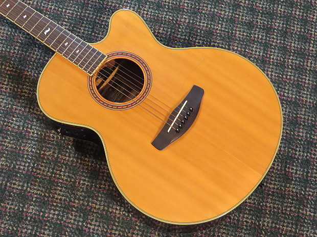 Yamaha CPX-8 Compass Acoustic/Electric! Spruce/Rosewood! | Next Big Thing Guitars | Reverb