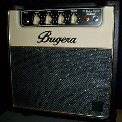 NEW Bugera V5 INFINIUM w/ Bugera Amp Cover + Tube Upgrade Package
