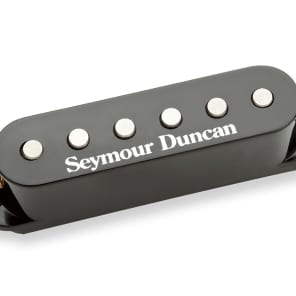 Seymour Duncan STK-S6 Custom Stack Plus Black Cover