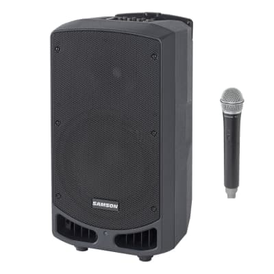 Samson Expedition XP310w-D 300-Watt Portable PA System with Wireless Microphone (D-Band: 542-566 MHz)