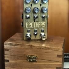 Chase Bliss Audio Brothers Analog Gainstage Boullion Gold