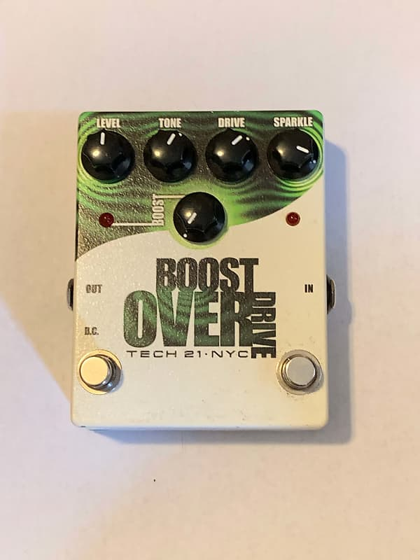 tech 21 boost overdrive chas e 39 s extra stuff reverb. Black Bedroom Furniture Sets. Home Design Ideas