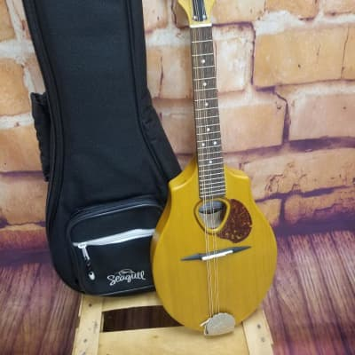 Seagull S8 Mandolin 2021 Natural With Gig Bag 2021 Natural for sale