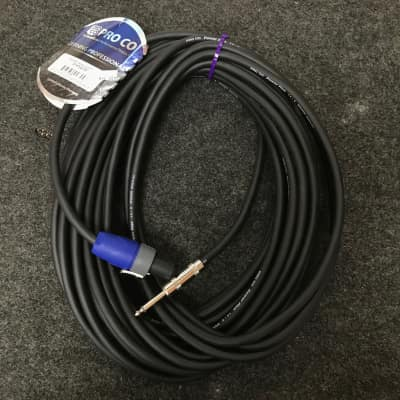 "ProCo S14NQ-50ft. Speakon to 1/4"" Speaker Cable"