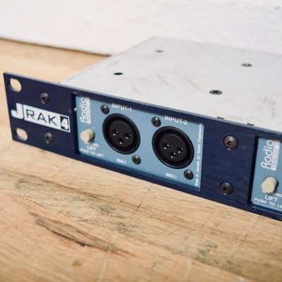 Radial J-Rak 4 w/ 3 Twin ISO DI direct boxes in excellent condition