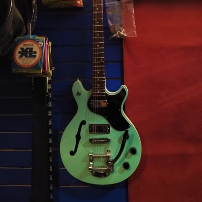 Daisy Rock Retro-H Semi-hollowbody Seafoam for sale