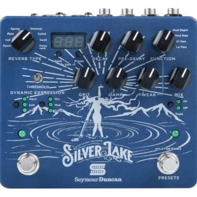 Seymour Duncan Silver Lake Dynamic Reverb Effects Pedal NEW