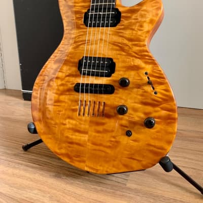 Godin lgx  1996 Natural quilted for sale