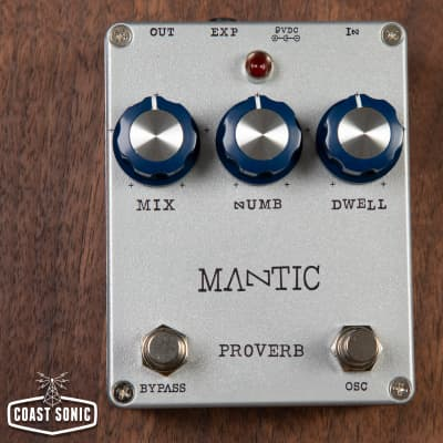 Mantic Effects Proverb LE Reverb *w/ momentary oscillation switch