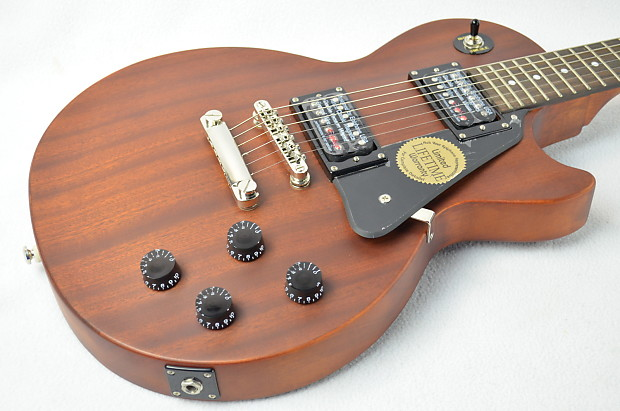 used worn brown epiphone les paul studio electric guitar with reverb. Black Bedroom Furniture Sets. Home Design Ideas