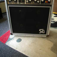 CMI /SG Systems Gibson Valve Amp w/Gibson Maestro Phase Shifter 4x10 Vintage Combo Early 1970s for sale