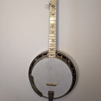 American Made Banjo Company Kel Kroydon Banjo 2008 Faux Pearl for sale