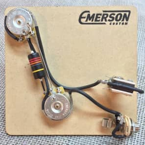 Emerson Custom PRS 2-Knob Prewired Kit