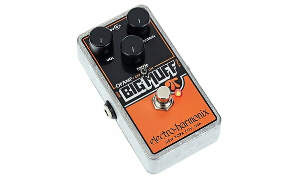 electro harmonix op amp big muff pi fuzz pedal new with full reverb. Black Bedroom Furniture Sets. Home Design Ideas