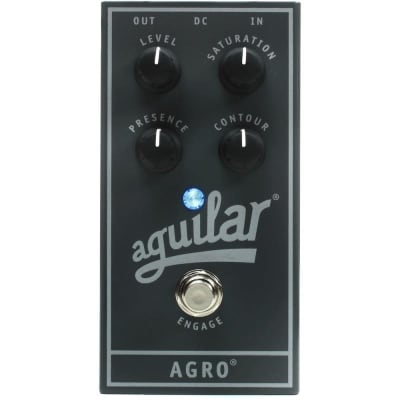Aguilar APAG Agro Bass Overdrive Effects Pedal for sale