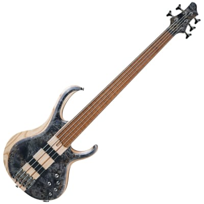 Ibanez BTB845FDTL BTB Standard 5-String Fretless Bass (Deep Twilight Low Gloss)