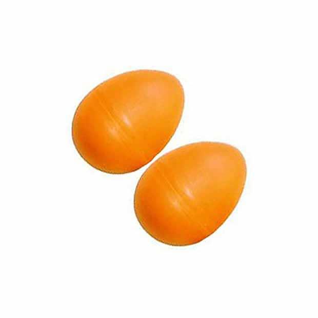 Maraca w//Orange Egg Shaker Pair Hand Percussion Musical Stocking Stuffer