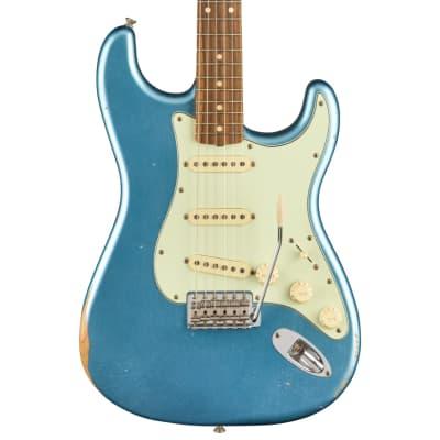 Fender Vintera Road Worn 60s Stratocaster Lake Placid Blue Electric Guitar