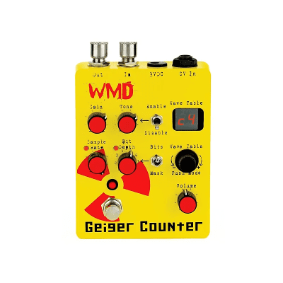 WMD Geiger Counter Digital Destruction Guitar Pedal