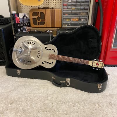 1930's BROMAN Fiddle Edge Resonator for sale