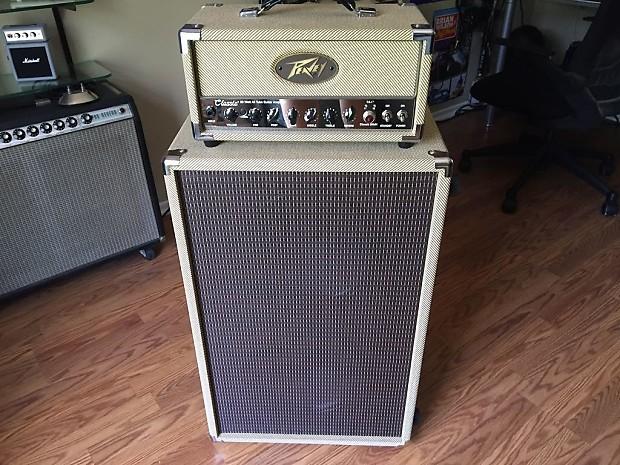 peavey classic 20 head guitar amp matching 212 c reverb. Black Bedroom Furniture Sets. Home Design Ideas